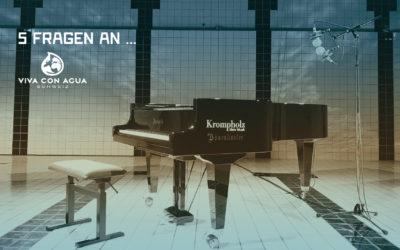Mittels Musik lässt sich unsere Vision -Wasser für Alle- viel kreativer verbreiten