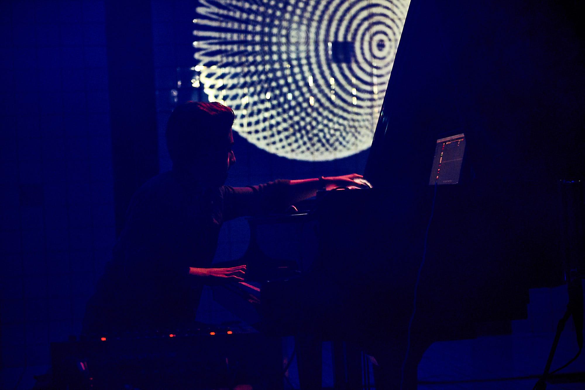 Piano im Pool Festival Luzern 2018, Adriano Koch
