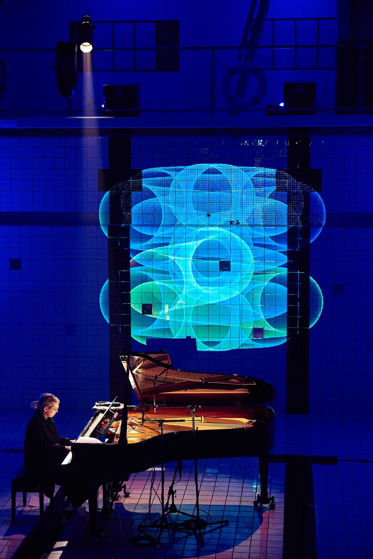 Piano im Pool Festival Luzern 2018, Marie Kruttli