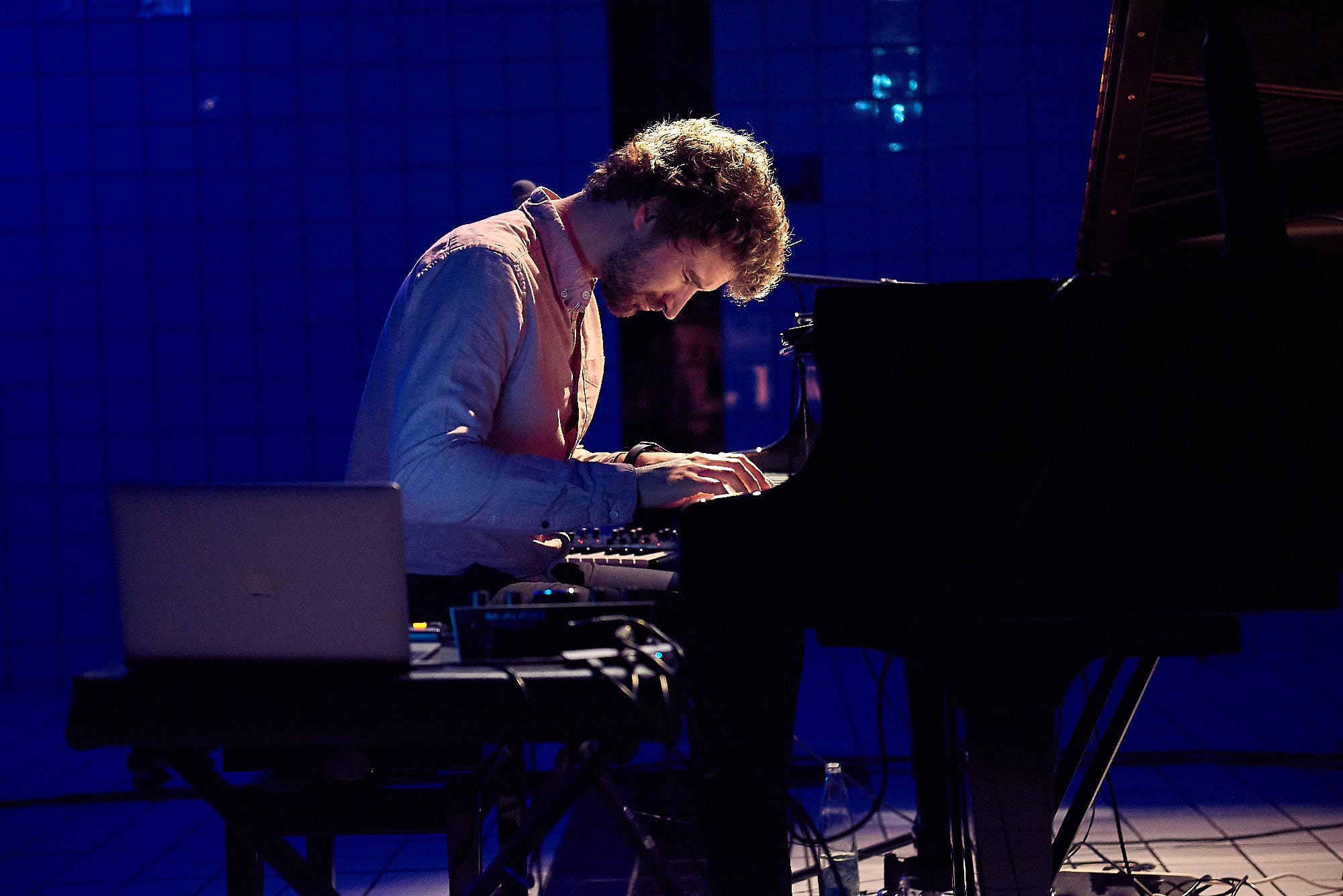 Piano im Pool Festival Luzern 2018, Obradovic Tixier Duo